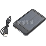 Power bank 4000 mAh; solarny ?>